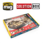 WWII GERMAN LATE SOLUTION BOX<BR>A.MIG-7703